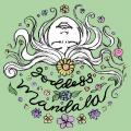 goddess mandala flowers hair arrangement