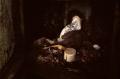 film photograph rubbish gloves dirt garbage pile dark
