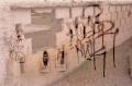 film photography lomography multiple exposure  graffiti wall brick