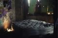 abandoned building graffiti mattress