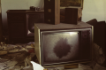 film photograph abandoned junk rubbish old tv dusty dirty