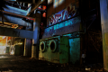 abandoned building film photography hdr graffiti urban exploration