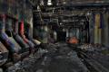 abandoned building film photography hdr graffiti urban exploration machinery
