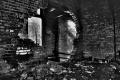 abandoned building film photography hdr graffiti urban exploration smashed brick wall