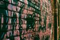 abandoned building urbex factory graffiti wall brick