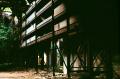 abandoned building urbex shadows factory chiaroscuro