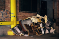 abandoned building film photograph wreck rubbish