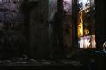abandoned building film photograph window debris