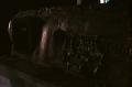 abandoned building film photograph  rust machine old broken dark shadow