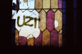 abandoned building film photograph church urbex stained glass graffiti uzt u2t