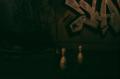 abandoned building film photograph church urbex bowling pins graffiti
