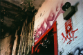 film photography urbex abandoned building graffiti ruinporn
