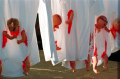 film photograph baby dolls dismembered bloody tshirts