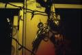 film photograph dark shadow scissors hanging