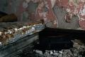film photography urbex abandoned ruinporn peeling paint mattress