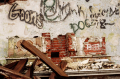 film photography urbex abandoned ruinporn graffiti wall