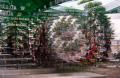 film photography prism lens fractal trippy psychedelic spiral beer garden summer germany gerlin