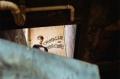 film photography urbex abandoned crumbling debris ruinporn portrait young man upshot hapa overcome obstacle graffiti