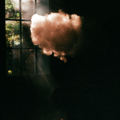film photograph chiaroscuro vape vaping cloud vapor sunlight shadow window ray sunshine