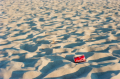 film photograph sand beach texture coca coke cola can trash