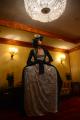snorlax marie antoinette cosplay dress pokemon hapa zena hardtshaped turquoise lace hotel elysee nyc new york hat pokeball crystal chandelier