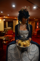 snorlax marie antoinette cosplay dress pokemon hapa zena hardtshaped turquoise lace hotel elysee nyc new york hat pokeball cookies fancy