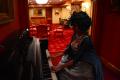 snorlax marie antoinette cosplay dress pokemon hapa zena hardtshaped turquoise lace hotel elysee nyc new york hat pokeball piano library