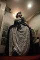 snorlax marie antoinette cosplay dress pokemon hapa zena hardtshaped turquoise lace hotel elysee nyc new york hat pokeball