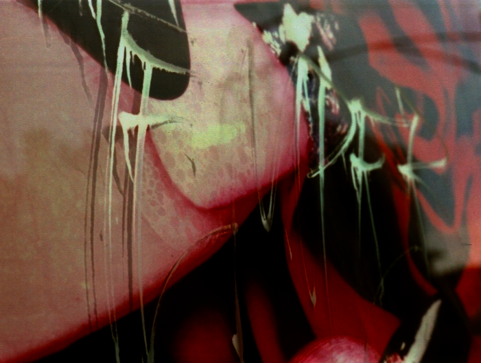 graffiti street art black red white pink abstract drip swirl tag