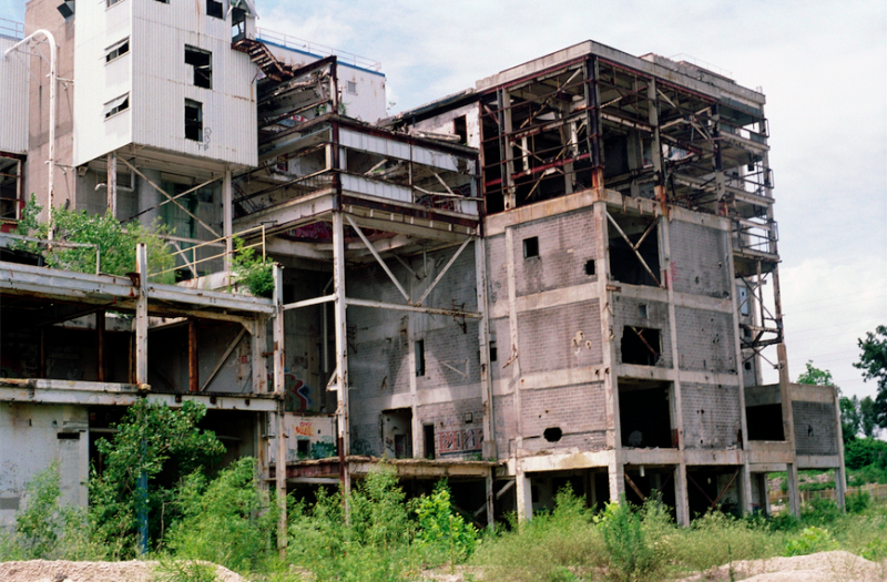 film photography urbex abandoned ruinporn crumbling falling apart building