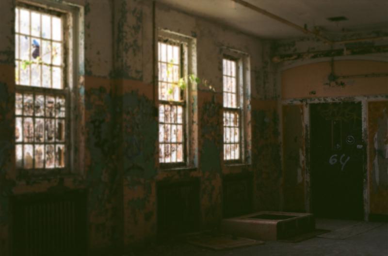 film photography urbex abandoned ruinporn crumbling debris king's park asylum