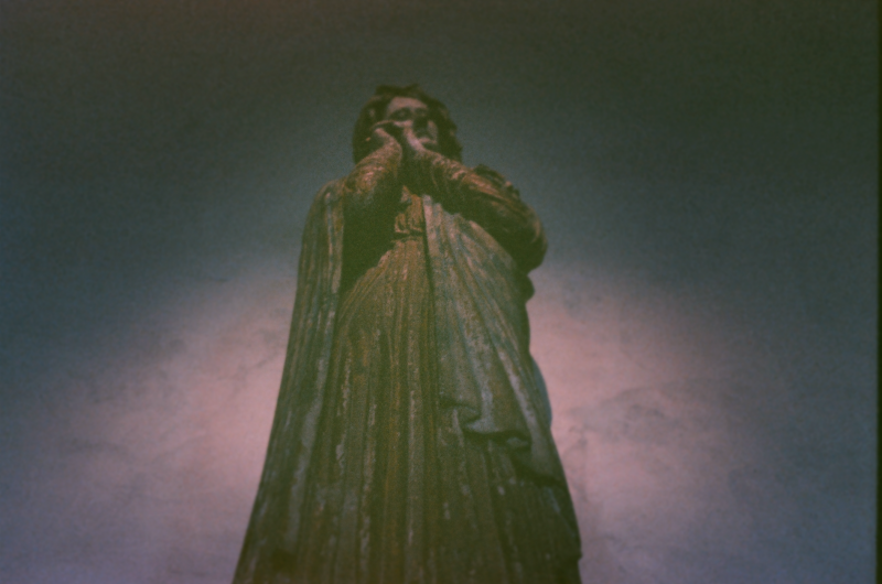 film photograph statue robes drapery