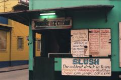 film photography street ice cream pastel slush colorful local