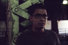 film photograph portrait young man glasses