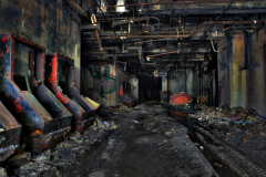 abandoned building film photography hdr graffiti urban exploration machinery