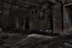 abandoned building film photography hdr graffiti urban exploration