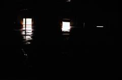film photography urbex abandoned ruinporn window light water reflection chiaroscuro