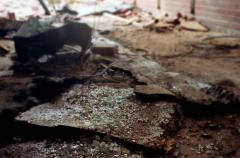 film photography urbex abandoned ruinporn debris glass broken shattered