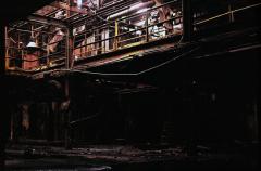 film photography urbex abandoned ruinporn crumbling building factory chiaroscuro