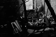 film photography urbex abandoned ruinporn black and white debris crumbling