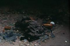 film photography urbex abandoned ruinporn debris pill bottle pants